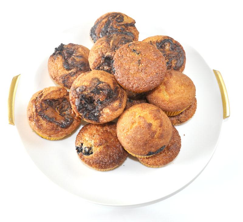 Muffinki na dwa sposoby