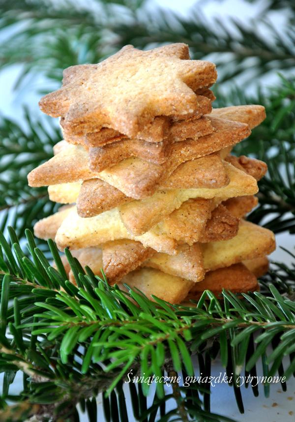 Świąteczne ciasteczka cytrynowe