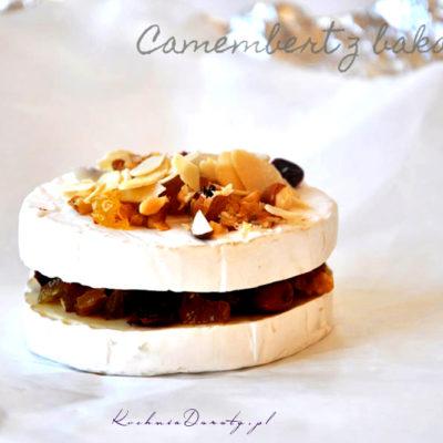 Pieczony Camembert z Bakaliami