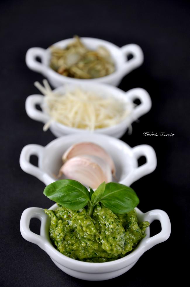 Pesto z rukoli i pestek dyni