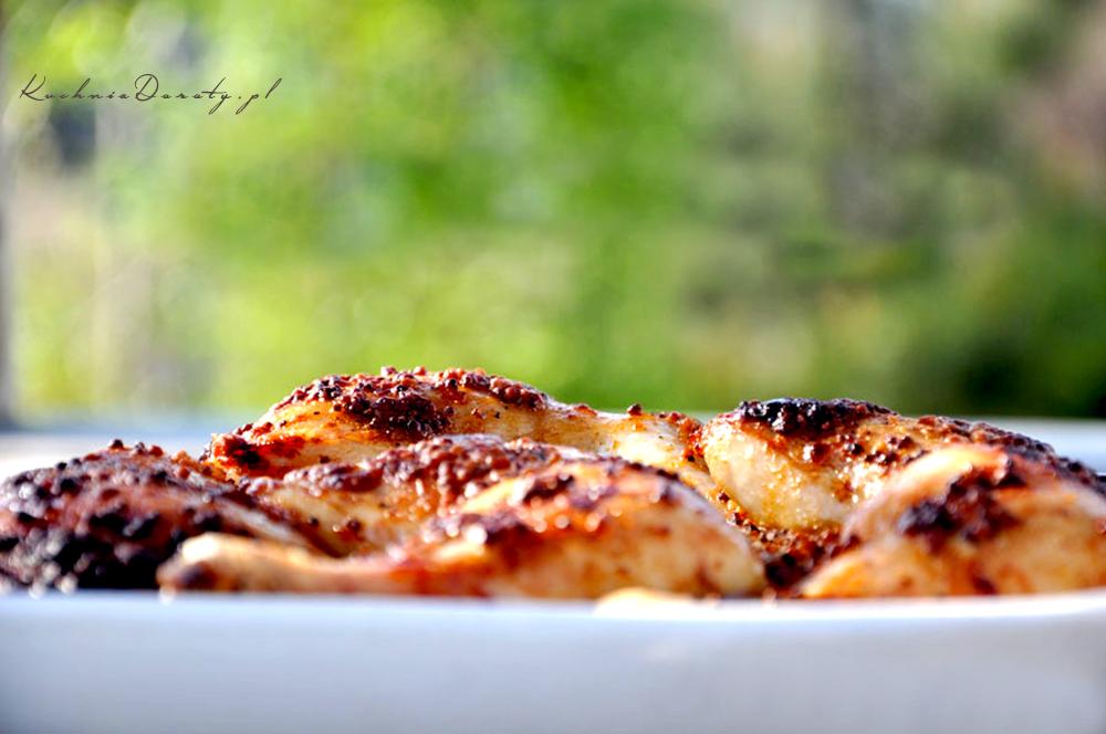 Grillowany Kurczak w Gruboziarnistej Musztardzie