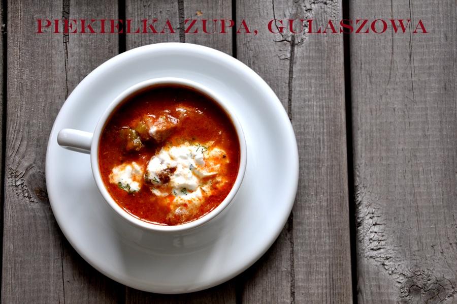 Zupa Gulaszowa Ostra i Rozgrzewająca