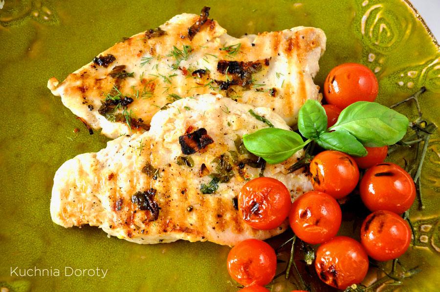 Grillowana pierś z kurczaka na ostro