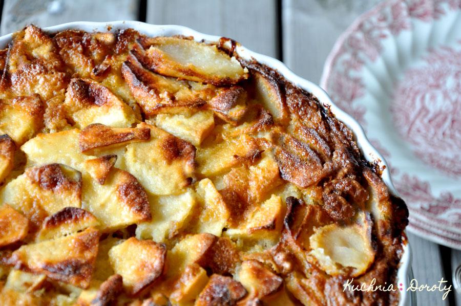 Ciasto z Toskanii z Jabłkami i Orzechami