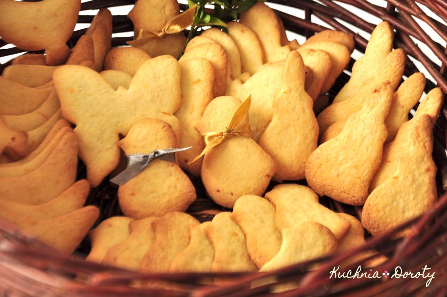 Wiosenne ciasteczka pomarańczowo-waniliowe