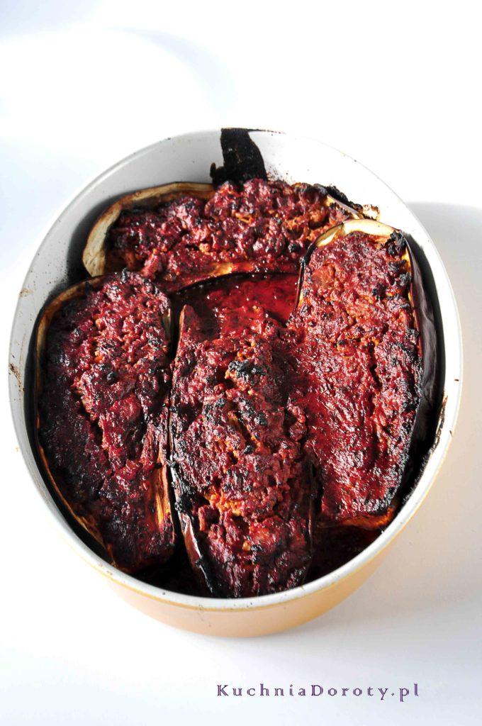 Bakłażan Faszerowany Mięsem