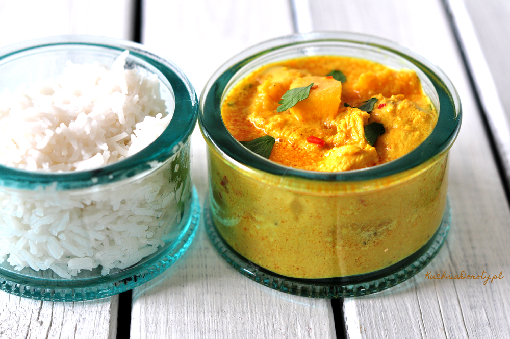 Curry z Kurczaka i Dyni na Ostro