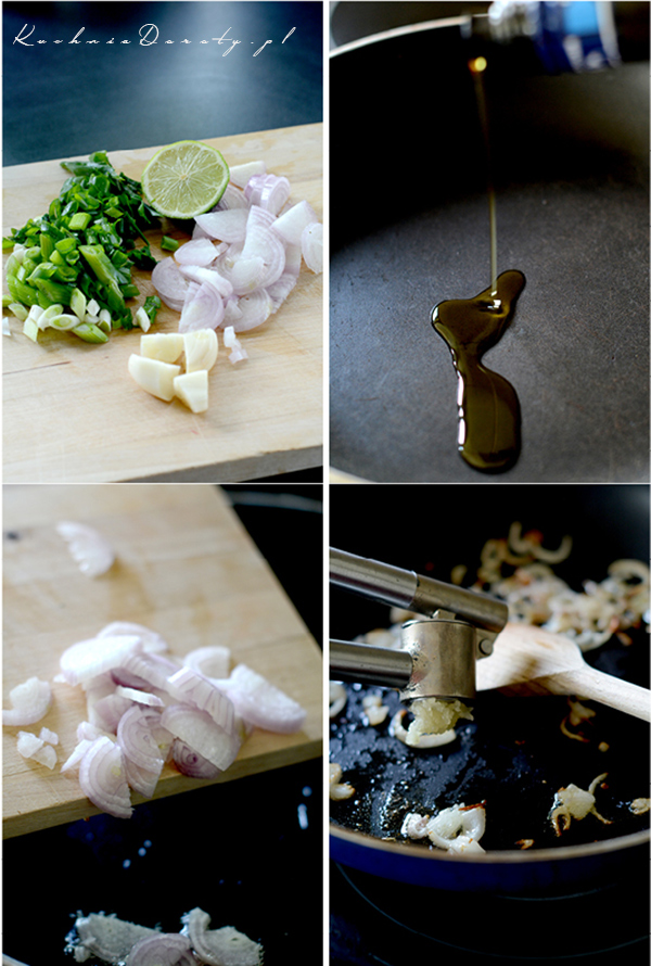 Makaron z ostrym łososiem jak zrobić