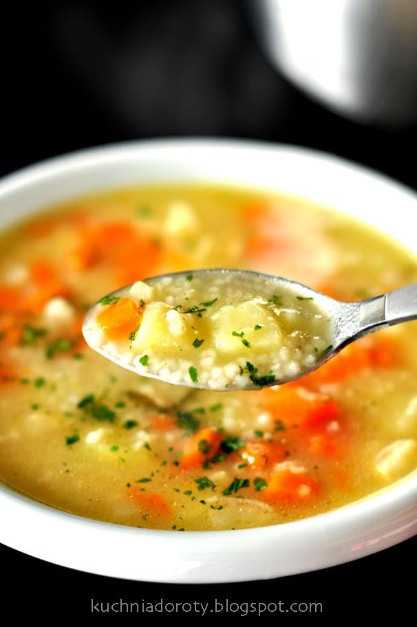 Krupnik Domowy Zupa Z Kasza Wiejska Kuchnia Doroty