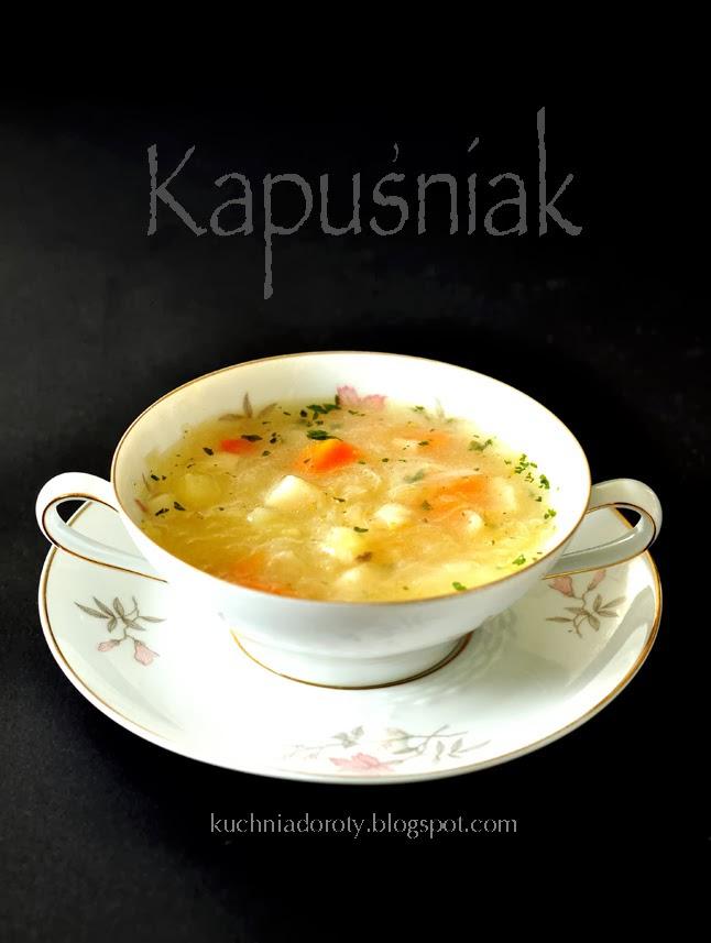 Kapusniak Zupa Z Kiszonej Kapusty Kuchnia Doroty