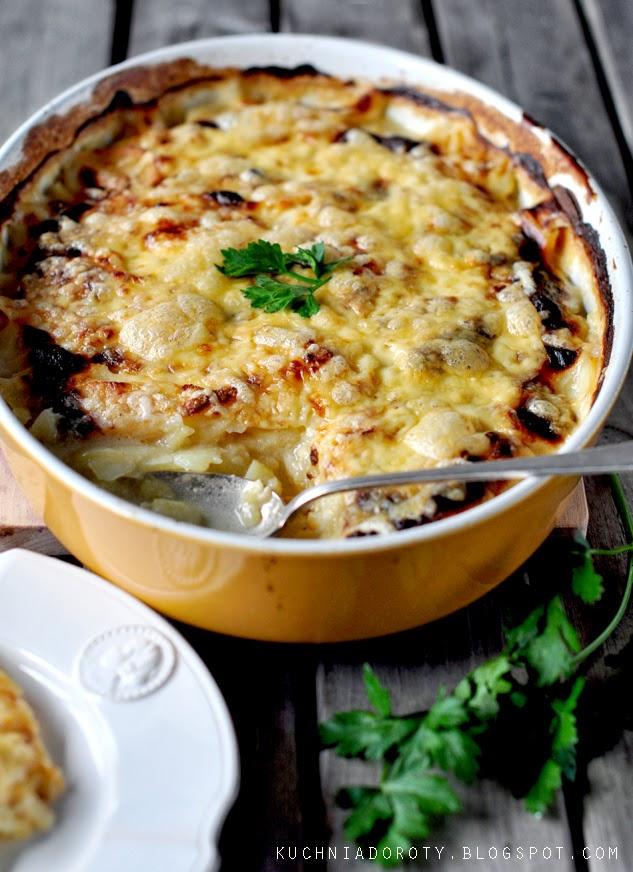 ziemniaki dauphinois, ziemniaki dauphinois przepis, zapiekanka, zapiekanka przepis, zapiekanka z ziemniaków, zapiekanka z ziemniaków przepis, ziemniaki, ziemniaki przepis