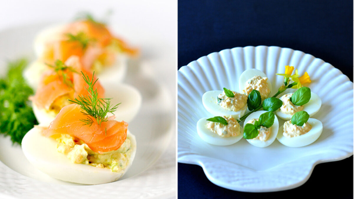 Jajka Faszerowane Na Dwa Sposoby Kuchnia Doroty