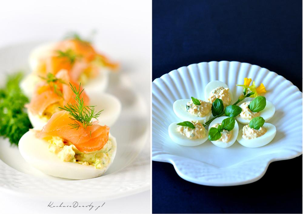 Jajka Faszerowane na Dwa Sposoby