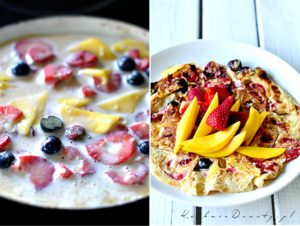 Omlet z Owocami