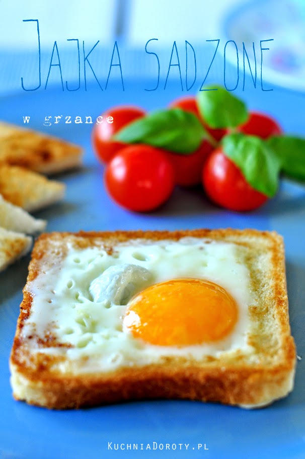 Jajka Sadzone w Grzance Najłatwiejsze