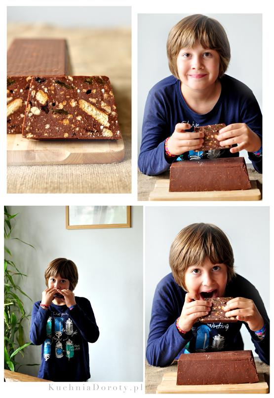 blok czekoladowy, blok czekoladowy krok po kroku, blok czekoladowy przepis, blok czekoladowy przepisy, blok czekoladowy z bakaliami, blok czekoladowy z bakaliami przepis, blok przepis, blok przepisy, jak zrobić blok czekoladowy