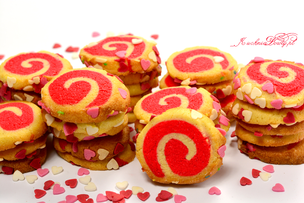 Ciastka Domowe na Walentynki