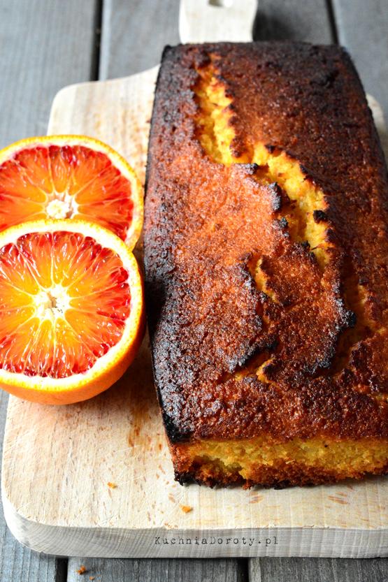 Ciasto Pomarańczowe z Kaszą Manną