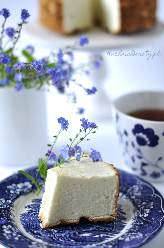 ciasto, ciasta przepisy, ciasto z białek, przepis na ciasto z białek, angel cake, angel cake recipy, ciasto lekkie, lekkie ciasto przepisy