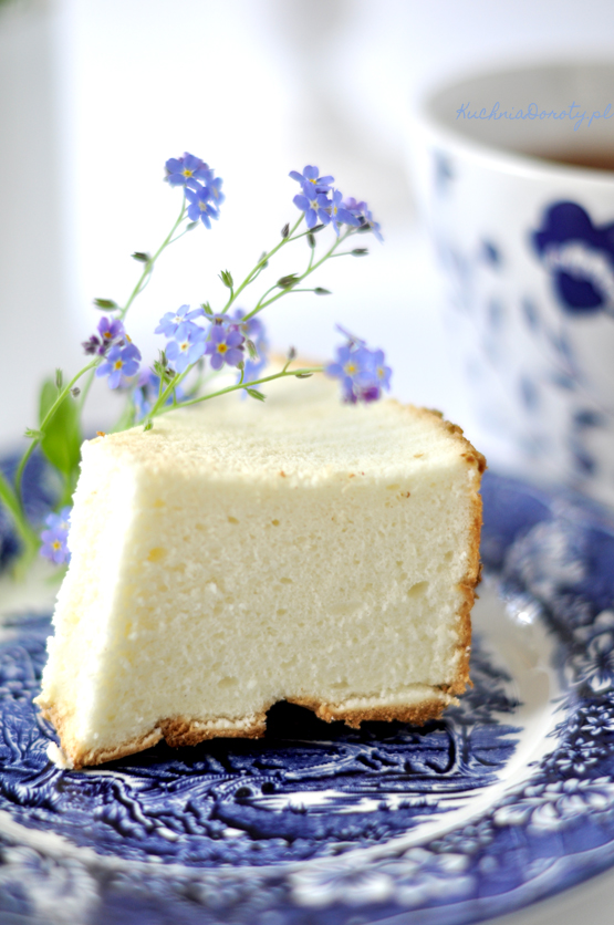 Angel Cake – Ciasto z Białek bez Tłuszczu
