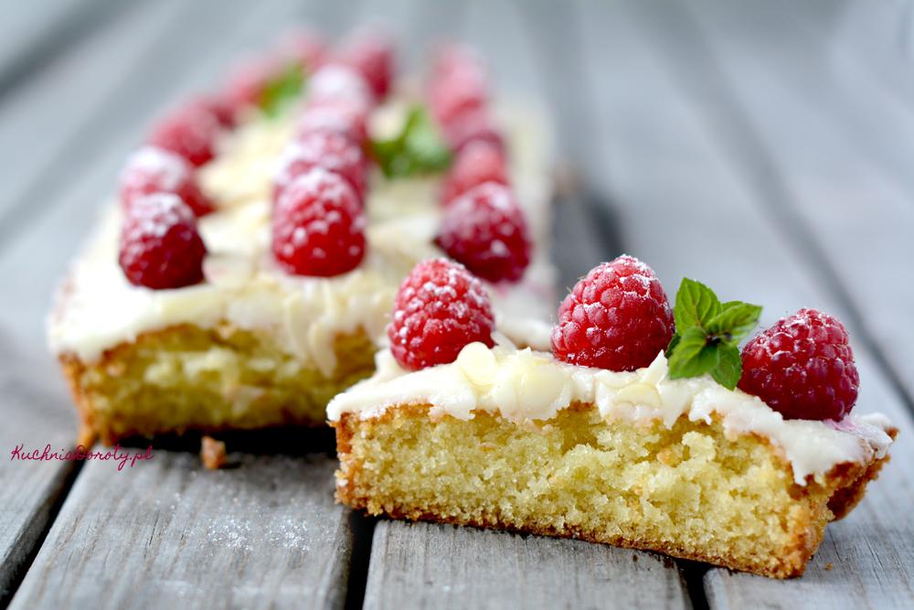 Ciasto maślane z maślanym lukrem