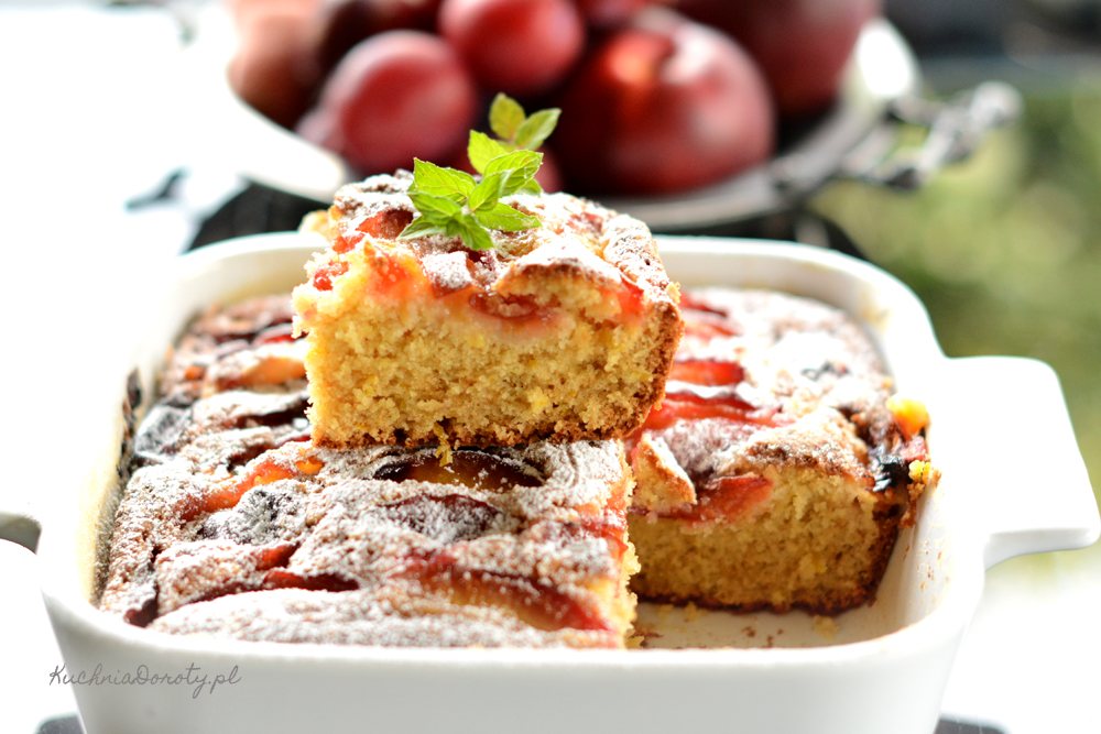 Ciasto ucierane ze śliwkami – najłatwiejsze