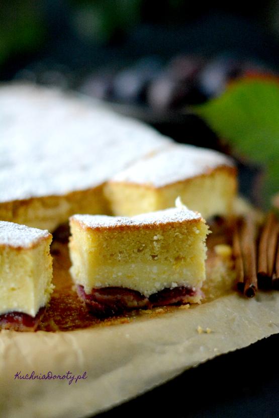 Ciasto ze śliwkami i serem