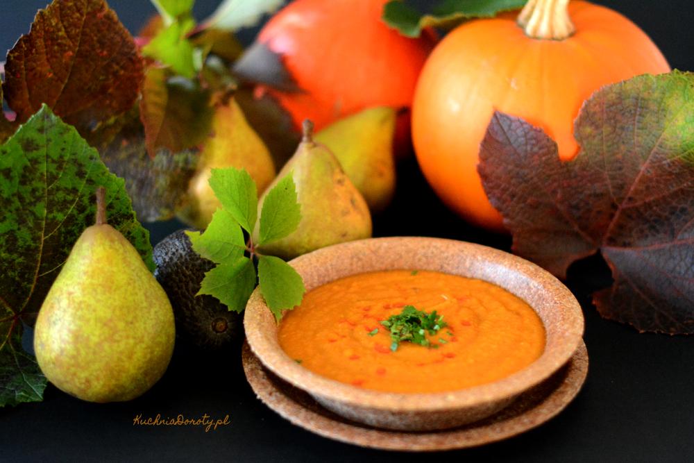 Zupa Krem z Wędzonej Dyni