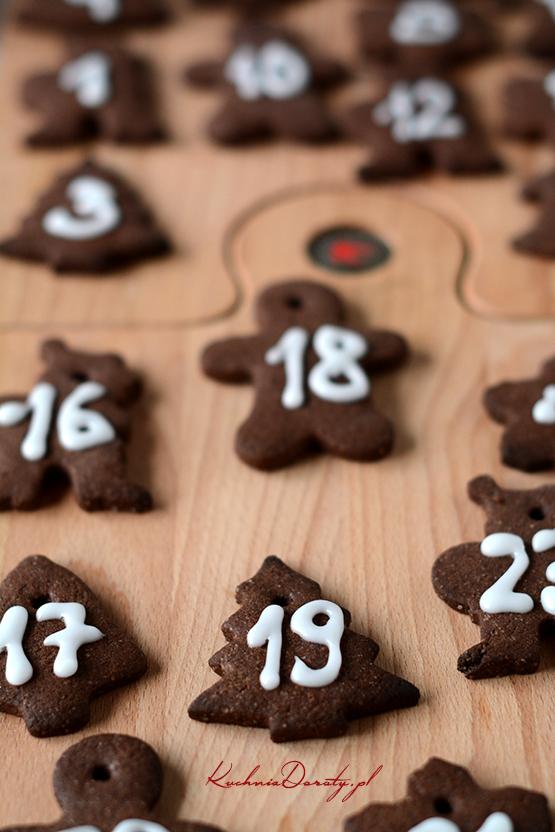Ciasteczka Czekoladowe i Kalendarz Adwentowy