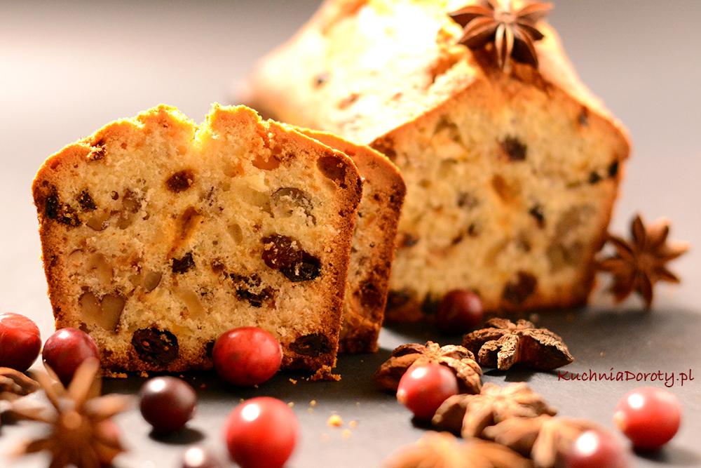 Keks – Świąteczne Ciasto z Bakaliami