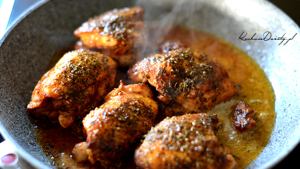 Kurczak Duszony