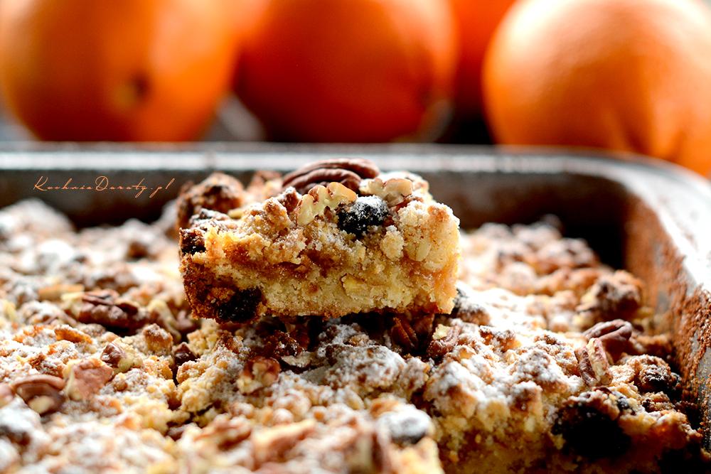 Kruche Ciasto z Musli i Pomarańczami – Pyszne