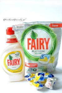 Fairy płyn i kostki