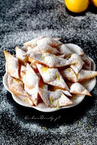 Ciasteczka a'la Faworki