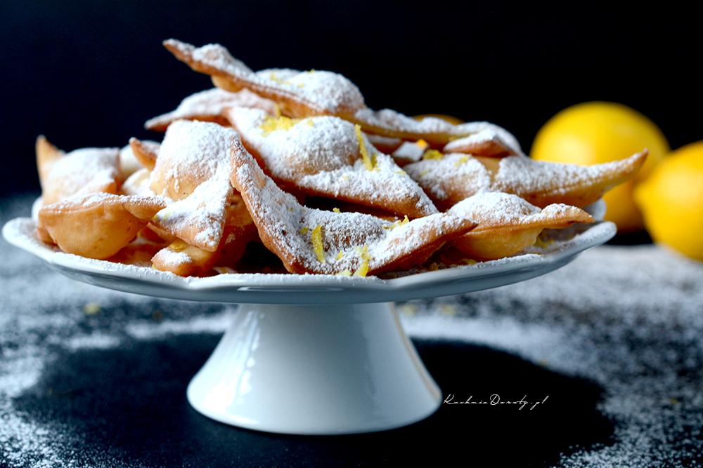 Ciasteczka Cytrynowe – a'la Faworki