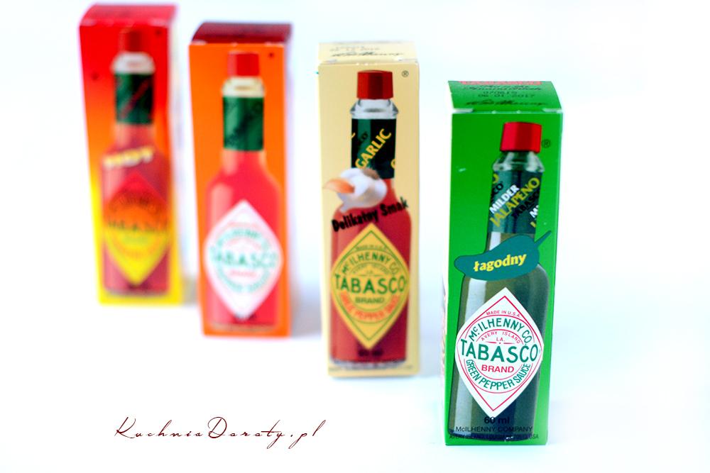 tabasco, tabasco sos, sos tabasco, sos tabasco rodzaje, tabasco rodzaje, najłagodniejsze tabasco, tabasco opinie, przepisy