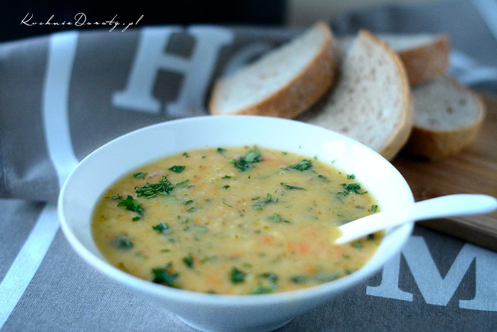 Zupa Grochowa Grochówka Domowa Kuchnia Doroty