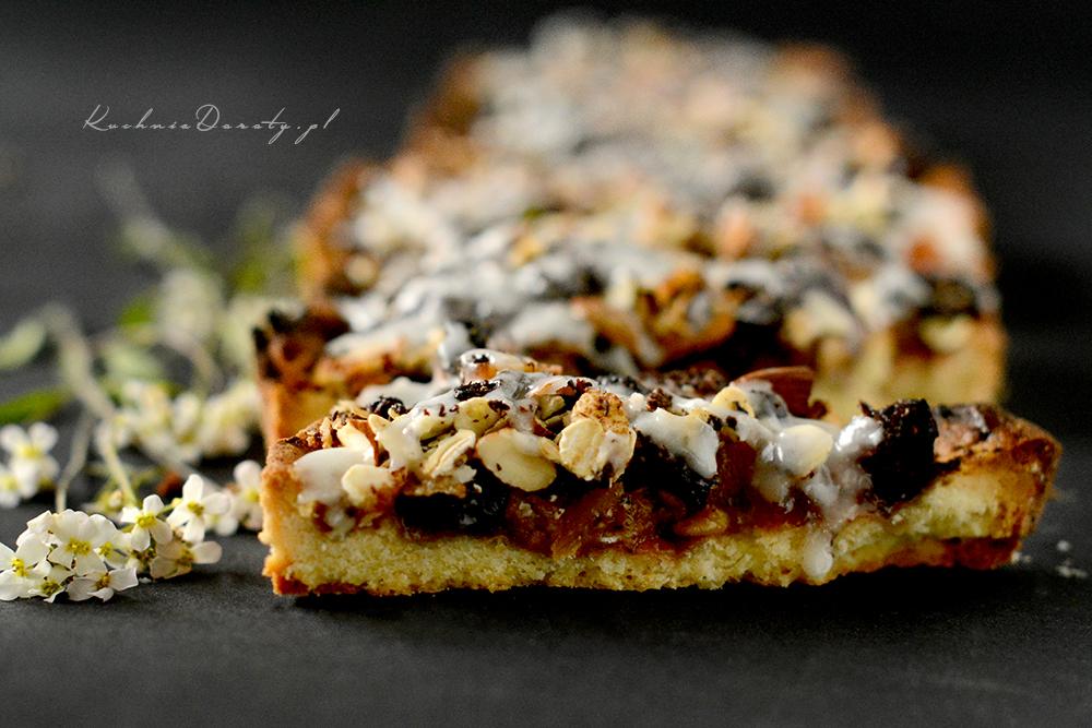 Ciasto Kruche Bakaliowe z Płatkami Owsianymi