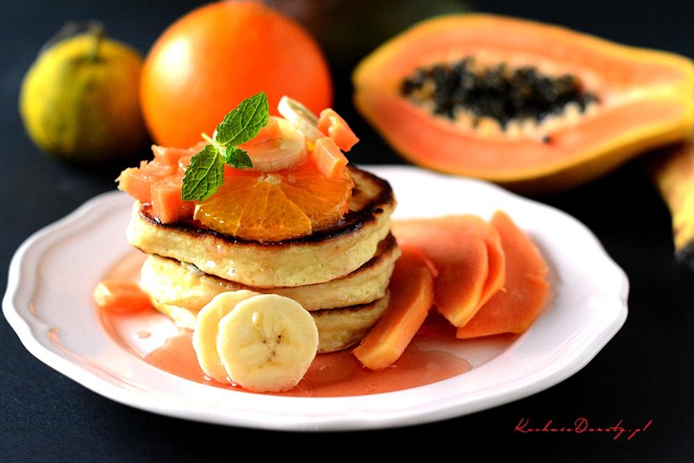 Pancakes z Jogurtem Greckim – placki śniadaniowe