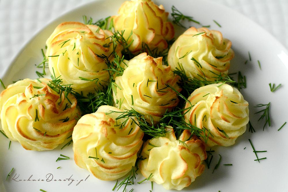 Ziemniaczane rozetki – dodatek do mięs i sosów