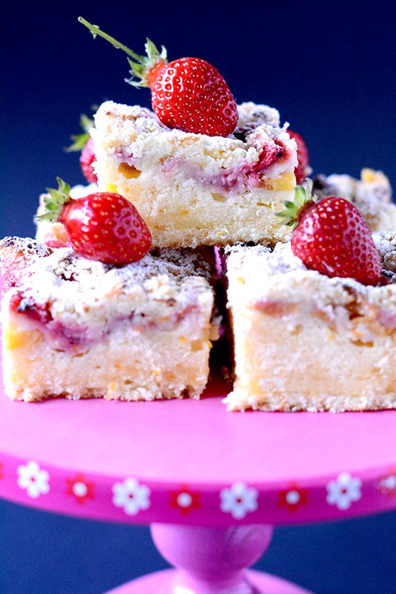 Najłatwiejsze Ciasto z Owocami