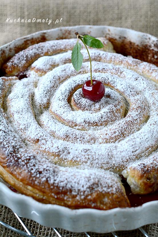ciasto, ciasto przepisy, ciasto z owocami, przepisy, ciasto francuskie, ciasto francuskie z owocami, ciasto francuskie przepisy, ciasto z wiśniami, ciasto z wiśniami przepisy, wiśnie, wiśnie przepisy,