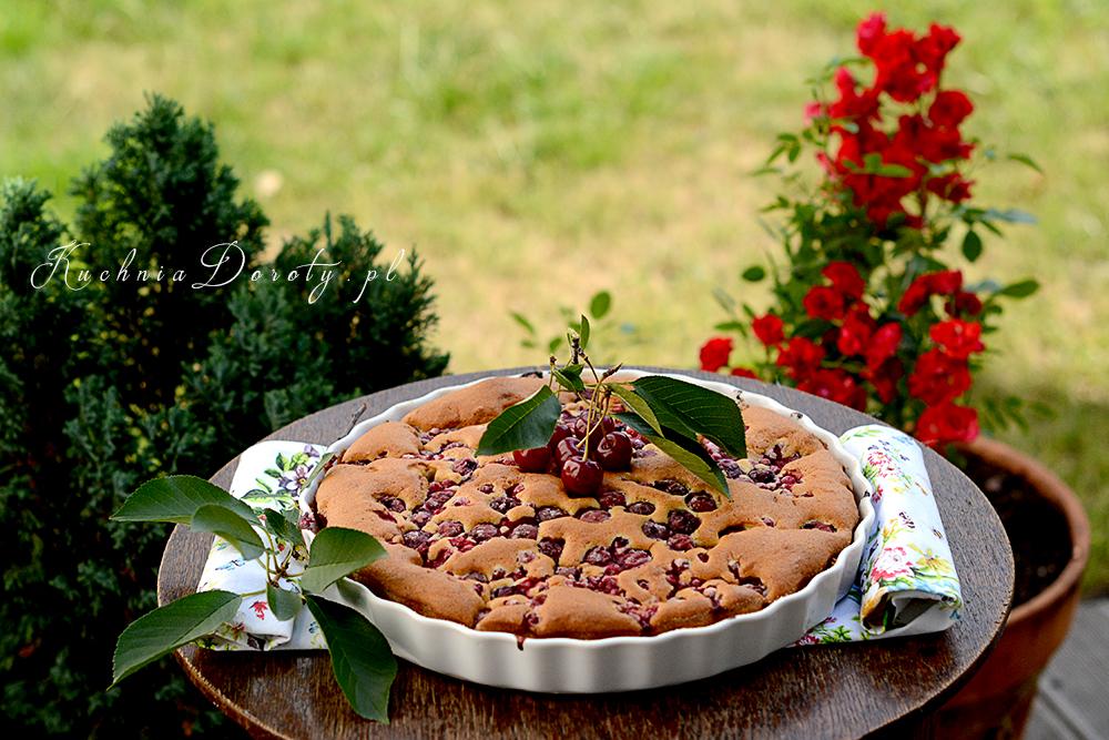 Najłatwiejsze ciasto z owocami i maślanką
