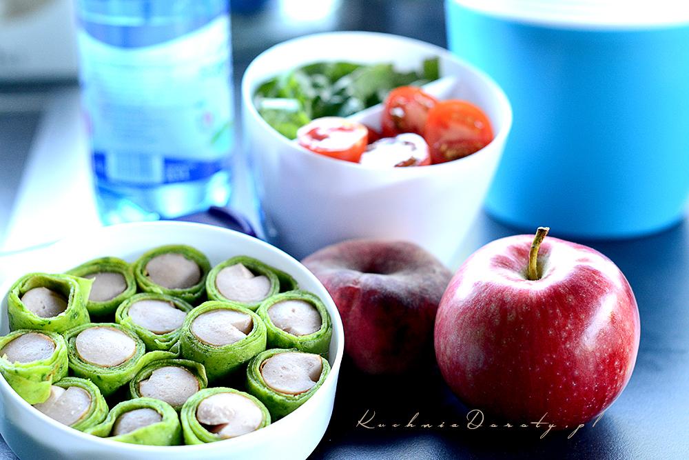Nalesniki Ze Szpinakiem I Parowkami Idealny Lunchbox Kuchnia Doroty