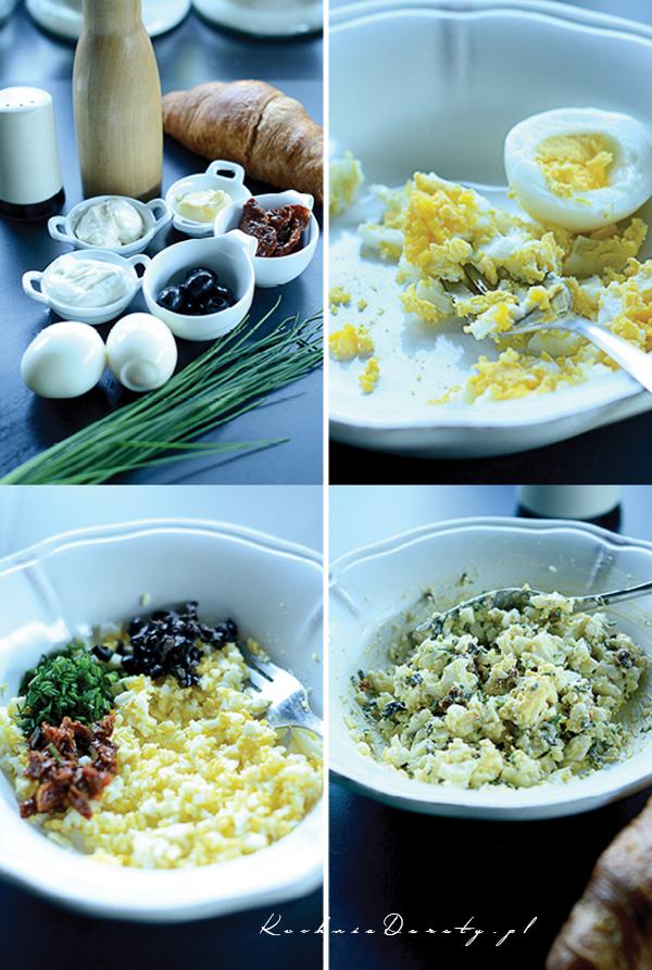 Pasta jajeczna łatwa iszybka