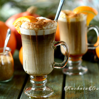 Kawa Inka Latte z syropem