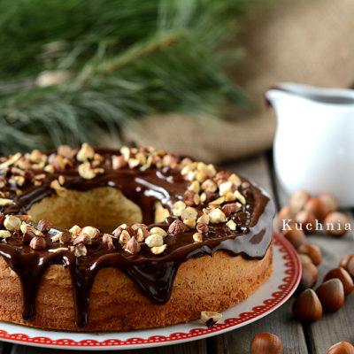 Ciasto Orzechowe z Czekoladą