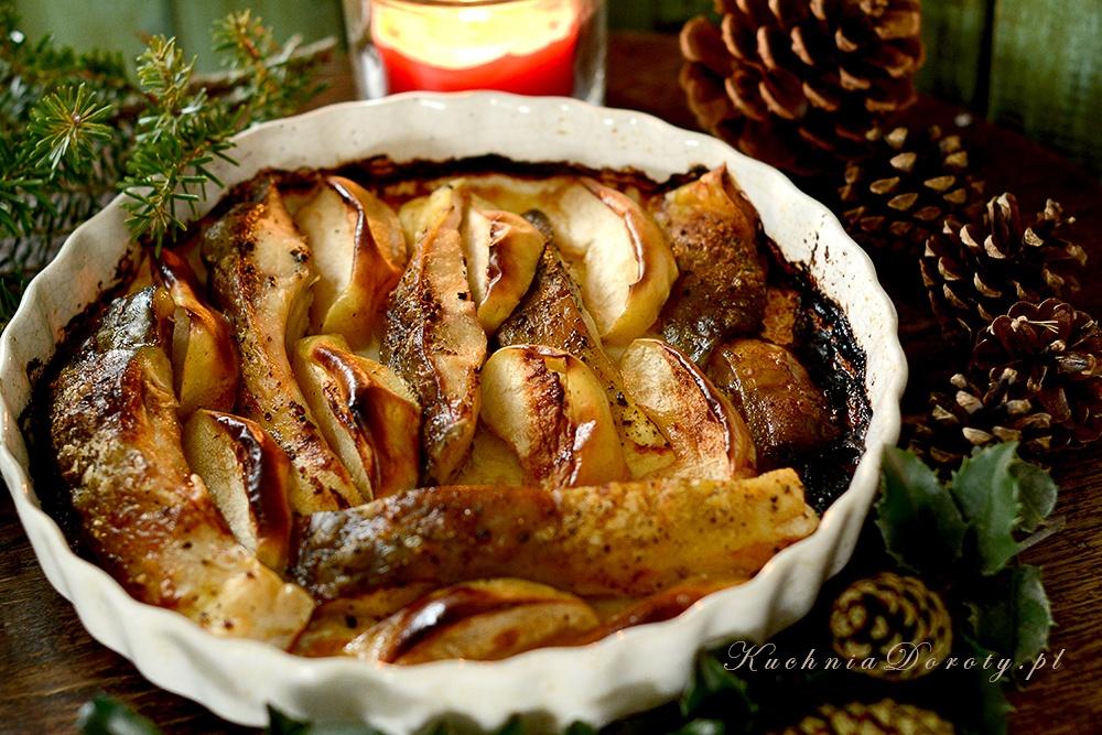 Karp Pieczony z Jabłkami – Wigilijny