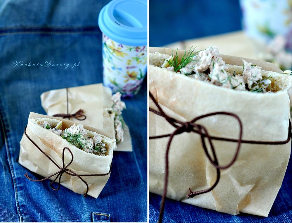 Pasta Sałatka z Tuńczykiem