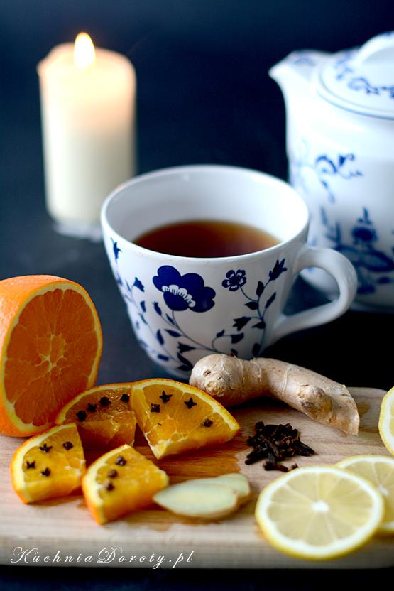 Zimowa Herbata z Owocami